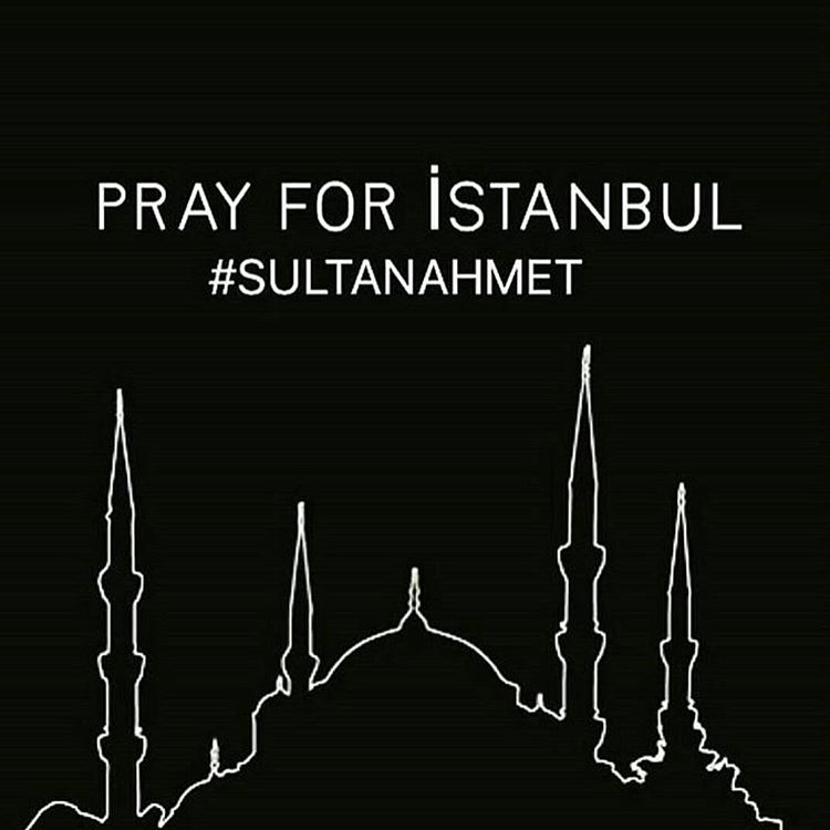 This makes me very sad and angry at what humans do to other humans. The attack happened in the district I used to work in. #sultanahmet #prayforistanbul