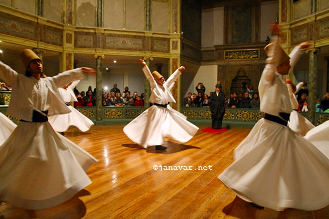 Travel: Whirling Derwishes in Galata Mevlevihanesi