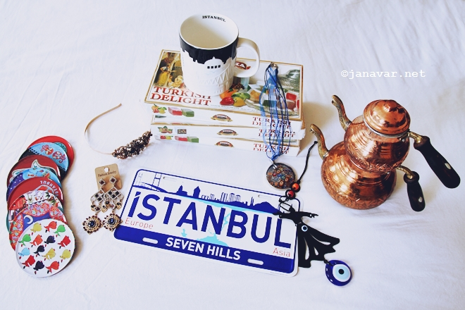 My souvenirs from Istanbul