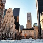 Travel: Manhattan in snow