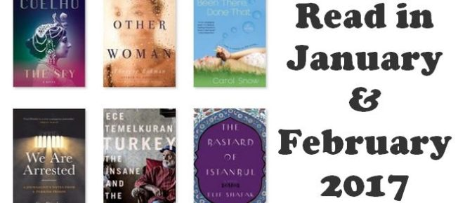 The books I read in January and February 2017