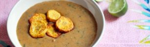 Recipe: Plantain Soup with Plantain Chips