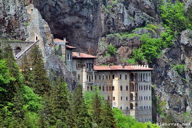 Travel: Sumela Monastery in Turkey