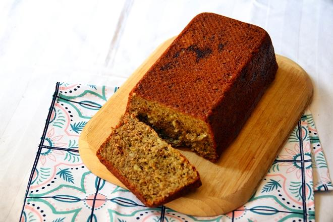 janavar.net | Recipe: Pistachio Banana Bread