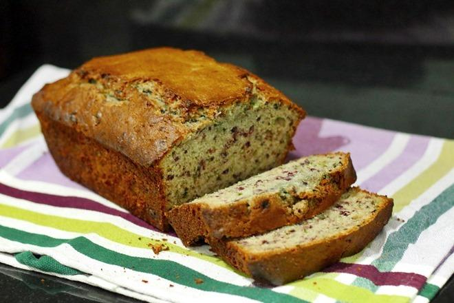 Recipe: Blackberry Mint Bread | janavar