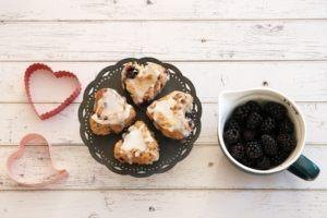 Recipe: Vegan Blackberry Basil Lemon Cookies