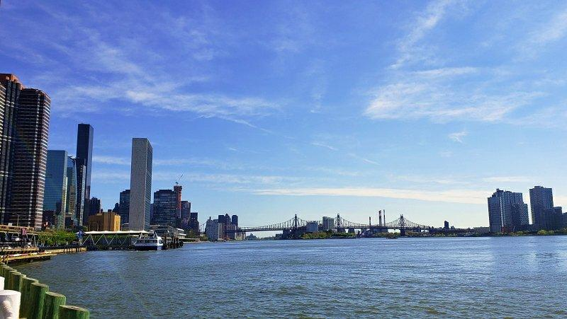 East River Esplanade at the 34th Street ferry | janavar