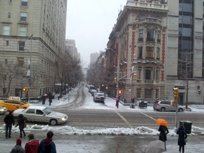 NYC Snow Storms and I – a Story of Already 4 Parts